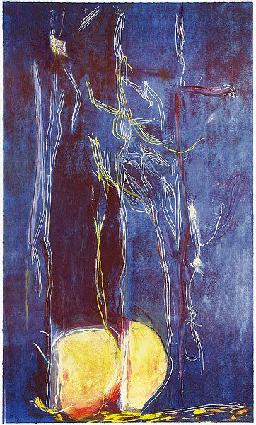 Artwork for Sale: All about blue, Helen Frankenthaler
