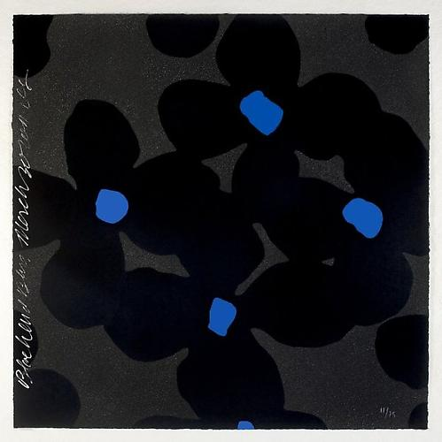Donald Sultan, Blacks and Blues - 2011