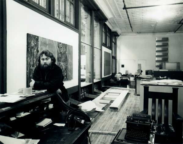 Donald Judd, Inside 101 Spring Street Photo: Judd Foundation Archive