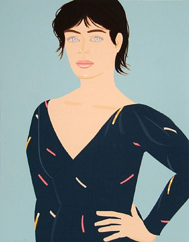 Grey Dress, Alex Katz