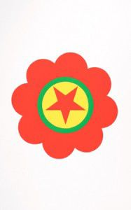 Polly Apfelbaum Print,  The Kurdistan Worker's Party