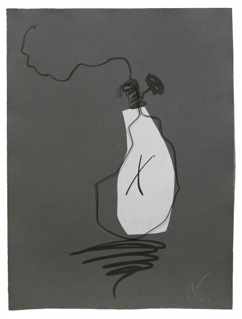 Claes Oldenburg Hard Times Bulb - Night, 1995