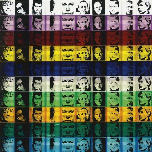 Andy Warhol, Portraits of the artists