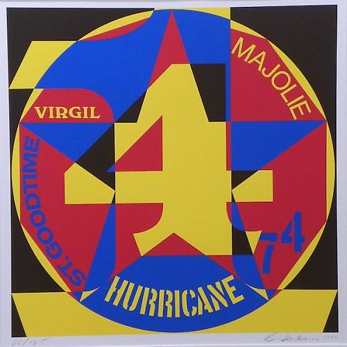 For sale at VFA: Robert Indiana, Yield Brother-from the Decade Series, 1971, Screenprint, 35-7/8 X 29-7/8 in., Edition of 200