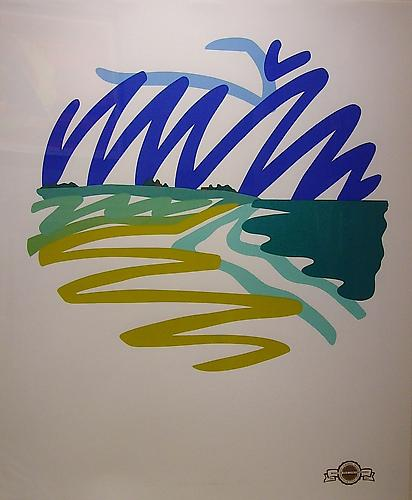 "Tom Wesselmann, Seascape (Round) from the ""Master American Contemporaries"" Portfolio"