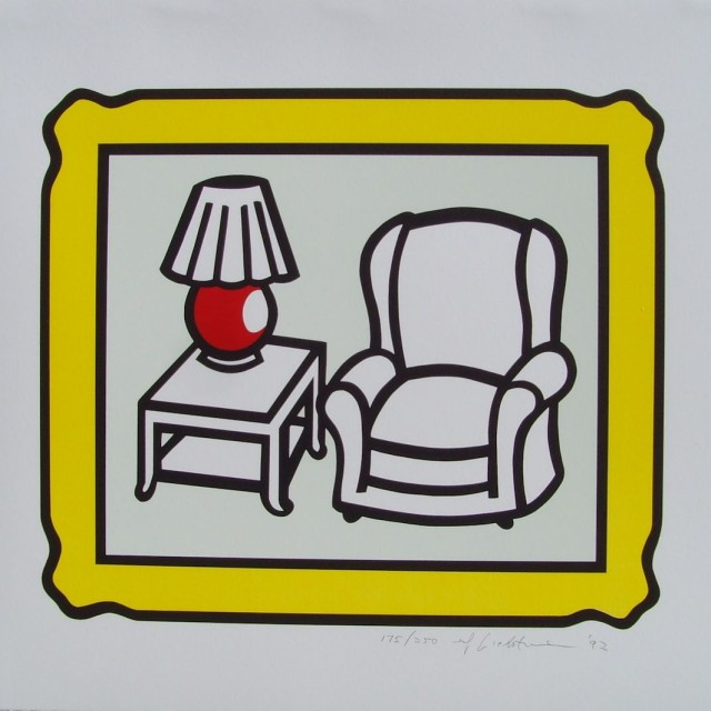 Roy Lichtenstein, Red Lamp