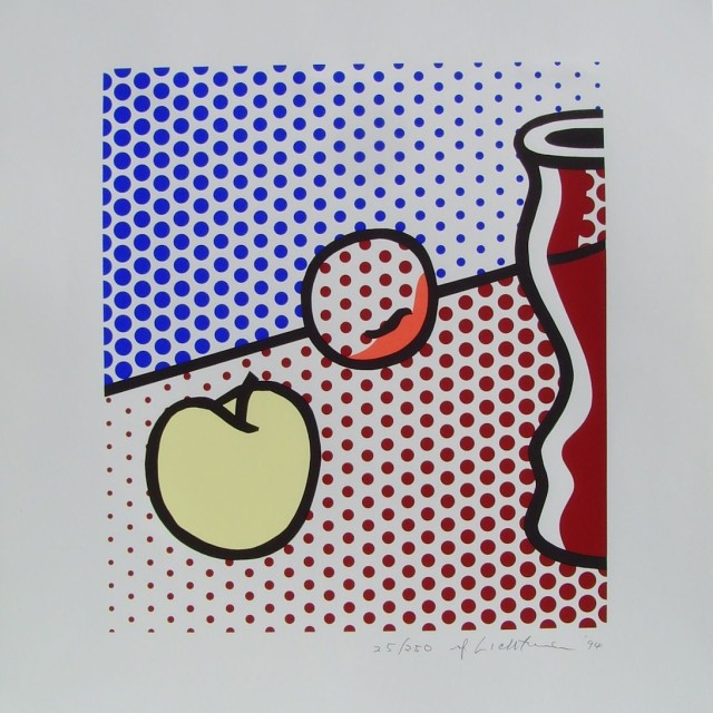 Roy Lichtenstein, Still Life with Red Jar