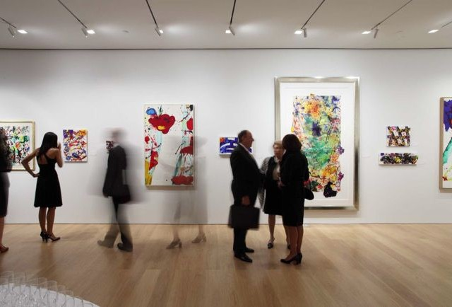 Sam Francis Sotheby's