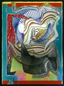 Frank Stella - The Funeral