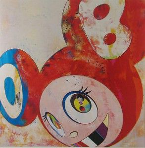 Takashi Murakami And Then Abstraktes Bild, 2010