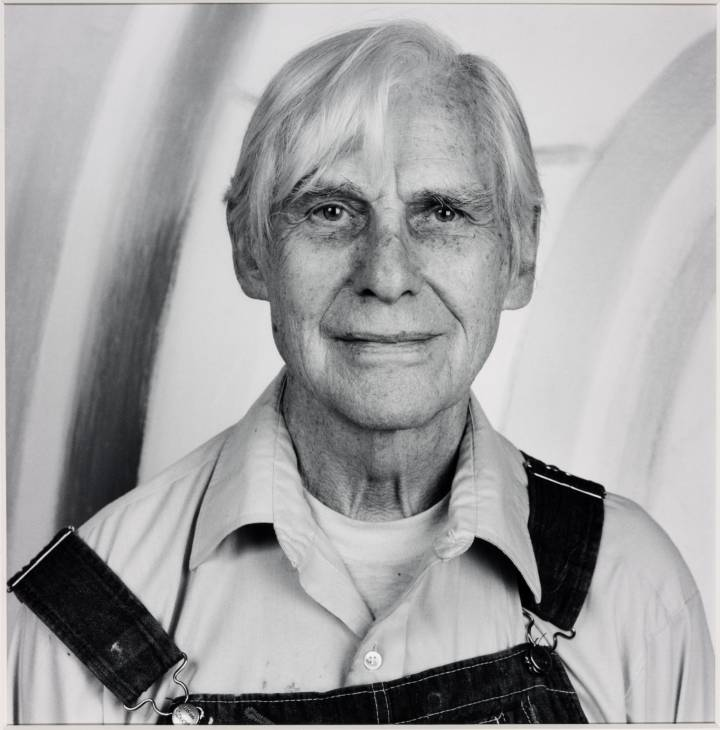 Willem de Kooning, 1986 Photograph by Robert Mapplethorpe