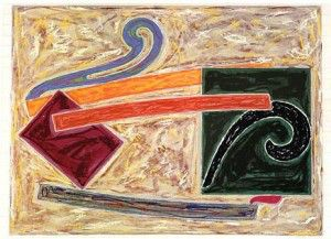 Available at VFA: Frank Stella Inaccesible Island Rail - (Exotic Bird Series), Axsom 110, 1977