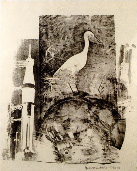 Rauschenberg Stoned Moon lithographs