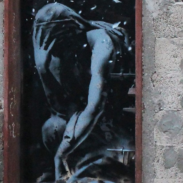 Banksy, Bomb damage, Gaza City