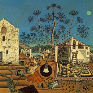Joan Miro The Farm, 1921-1922, oil on canvas, 48.7 × 55.6 in., National Gallery of Art, Washington