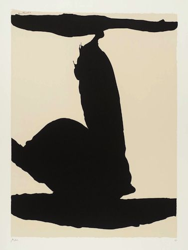 Africa 1 1970 by Robert Motherwell 1915-1991