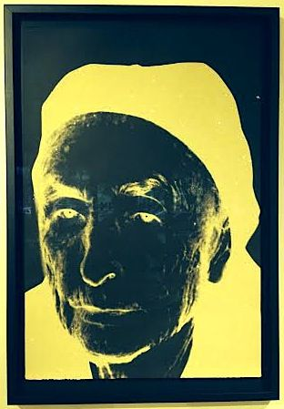 Andy Warhol Georgia O'Keefe