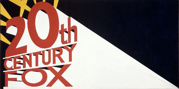 Ed Ruscha - Large Trademark with Eight Spotlights