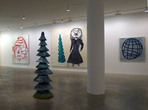 Donald Baechler: Painting and Sculpture