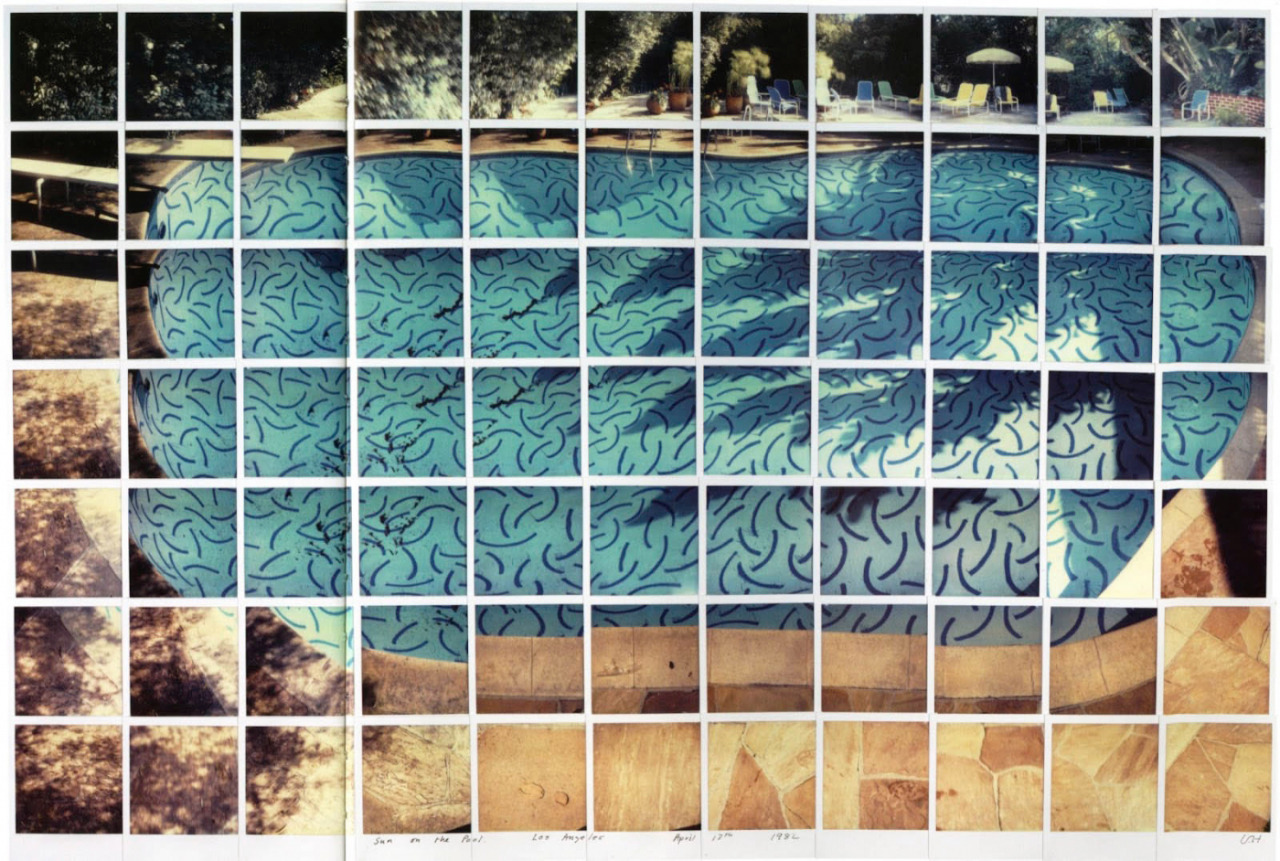 David Hockney Photography 1982 Sun on the Pool Los Angeles