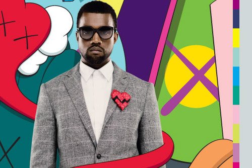 Kaws Kanye West Album Cover,