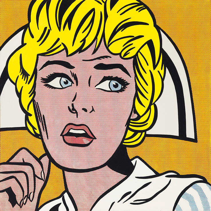Roy Lichtenstein, Nurse, 1964