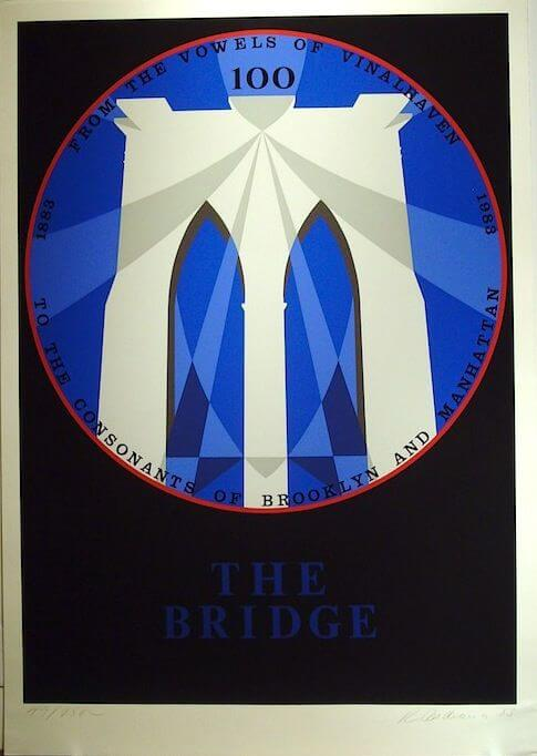 Robert Indiana, The Bridge, 1983