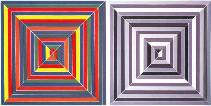 Frank Stella Screenprints, Lithographs and Etchings for Sale