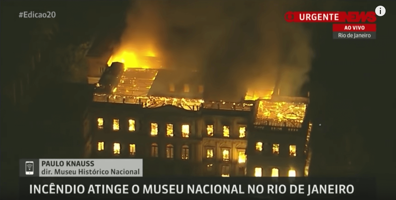 Vik Muniz: Reaction to Brazil Museum Fire
