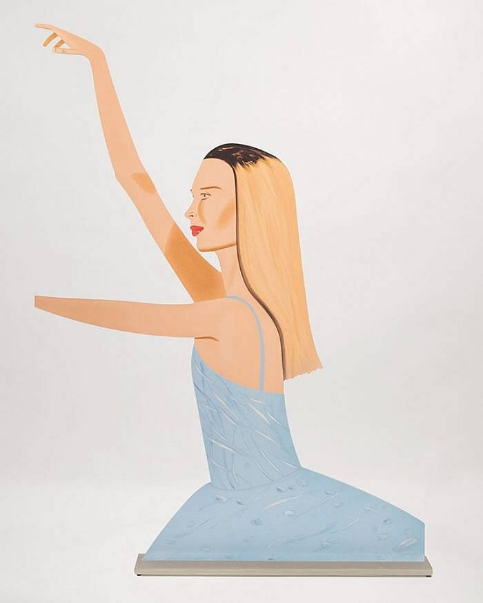 Alex Katz Dancer 2